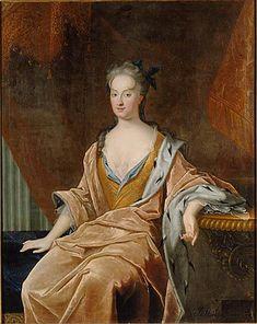 JOHAN STARBUS - Katarzyna Opalińska, ca. 1712, National Museum Stockholm