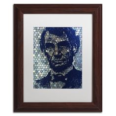Lincoln on Lincoln by Lowell S.V. Devin Matted Framed Painting Print