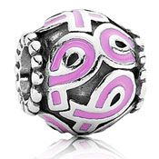 new pandora charm for breast cancer awareness!
