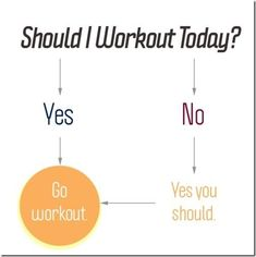 Should i workout today? quotes quote fitness workout motivation exercise motivate workout motivation exercise