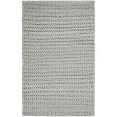 Hand-woven Terni Braided Texture New Zealand Wool Rug ( 5' x 8' ) | Overstock.com Shopping - Great Deals on 5x8 - 6x9 Rugs