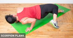 42 Crazy Fun Plank Variations For a Killer Core: Scorpion