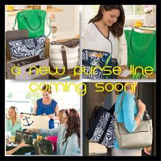 So excited to introduce the new purse line! Jewell by Thirty One! These bags are super cute and super functional! Www.mythirtyone.com/rachelh31
