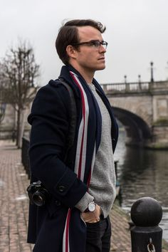 Fall/Winter Smart Turnout Yorkshire Hussars Stripe Scarf