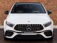 Mercedes AMG A45 S 4Matic+ Plus Used Mercedes Benz, New Mercedes, A Class Amg, Cc Top, Dual Clutch Transmission, Performance Engines, Bugatti Chiron, Car Detailing, Used Cars