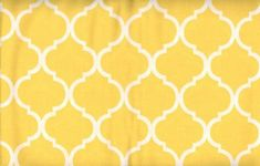Yellow Quatrefoil large Cotton Fabric  SHIPS FAST Quatrefoil Cotton fabric quilting sewing Fabric Store low price  free shipping available by FabricPremier on Etsy