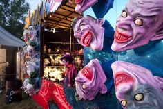 unfairground glastonbury 2014 - Google Search