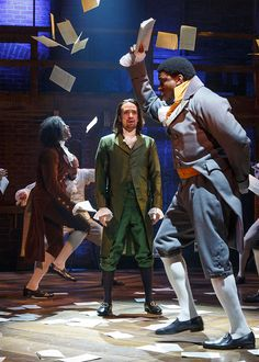 Hamilton's Costumer Turned the Cast Inside Out - Bloomberg ...