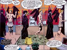 It's so hard to pick a favorite character from Sandman - but if I woke to find I had become one of them overnight - I would wish I could wake as Lucifer Daystar.