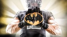 Alter Ego Football Gloves | DudeIWantThat.com