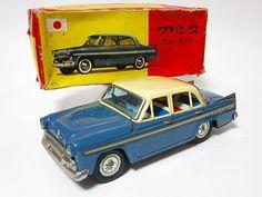 1960 Japanese BC BANDAI Prince Skyline Friction CAR Tin Toy
