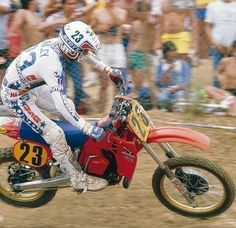 David Bailey 1984 500GP Carlsbad