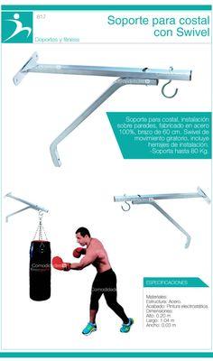 Soporte Base De Pared Para Costal Box 80kgs Acero Resistente - $ 499.00 en MercadoLibre