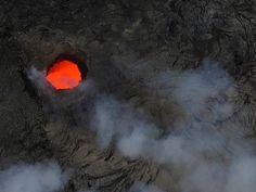 Hawaii volcano via helicopter