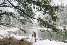 Winter wedding at Lake Tahoe | Solomita & Cameron - Love4Wed