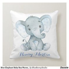 Elephant Baby Rooms, Elephant Nursery Decor, Baby Boy Nursery Themes, Elephant Baby Showers, Baby Boy Nurseries, Nursery Ideas, Neutral Nurseries, Babies Nursery, Themed Nursery