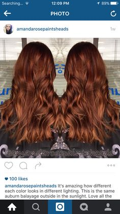 These redheads auburn balayage truly are beautiful. Dark Ombre Hair, Ombre Sombre, Auburn Balayage, Hair Color Dark, Ombre Hair Color, Hair Color Balayage, Balayage Hairstyle, Turquoise Hair Ombre, Natural Dark Hair