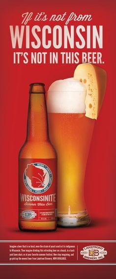 Lakefront Brewery- Wisconsinite. Summer Weiss. Refreshing.