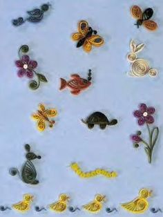 Little Critters Quilling Kit The perfect beginners quilling kit for all ages!
