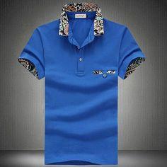 Men's Style Polo Shirts, Collar Summer Short Sleeve High Quality M - 5XL