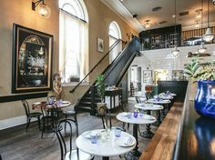 4. CHARLESTON, SC Our readers' favorite city in America has gone way beyond standard-issue Southern in recent years. New restaurants like The Ordinary (pictured)—where local oysters are shucked inside a former bank vault—and Xiao Bao Biscuit—where Lowcountry riffs make Asian recipes sing—prove that the trendsetting Husk—while still a winner.