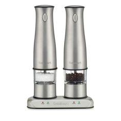 Cuisinart® Rechargeable Salt and Pepper Mill Set - BedBathandBeyond.com