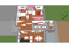 #Casas #Contemporaneo #Dormitorio #Cocina #Sala de estar #Puertas #Dibujos #Mobiliario de cocina #Maquetas #Plantas