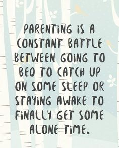 the struggle for both sleep and alone time is real! :D