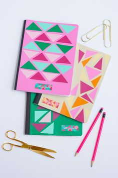 Personalized Back to School Notebooks - A Little Craft In Your DayA Little Craft In Your Day