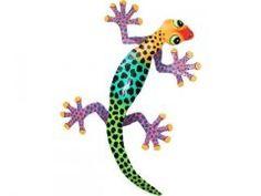 Ambience Garden Art - Metal Lizard