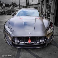 - sssupersports: Satin Black Maserati GT by. SSsupersports - sssupersports: Satin Black Maserati GT by.SSsupersports - sssupersports: Satin Black Maserati GT by. Maserati Gt, Ferrari, Exotic Sports Cars, Cool Sports Cars, Sexy Cars, Hot Cars, Bugatti Veyron, Rolls Royce, Dream Cars