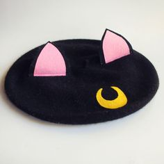 Luna Beret by Elleni the Label Edgy Outfits, Outfits For Teens, Pretty Outfits, Cool Outfits, Funky Hats, Cute Hats, Kawaii Clothes, Diy Clothes, Love Clothing