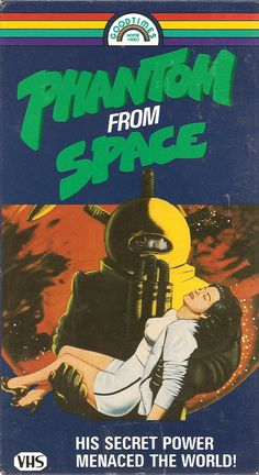 Phantom From Space (VHS Box Art)