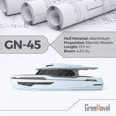 G-45, being under construction currently, model of ‪#‎GreeNaval‬ series will be completed in 7 months. greenaval.com ‪#‎yachts‬ ‪#‎boats‬ #sea #cruise #eco #green