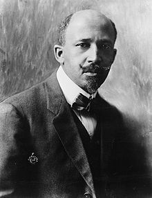 "W.E.B. DuBois - The Editor of the NAACP's newspaper ""the Crisis"" he was a prolific author and one of the first Blacks considered a serious spokesman for Black issues."