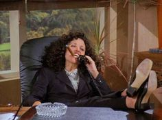 When she thought she could run the J. Peterman Catalog. | 53 Times Elaine Benes Was The Biggest Hot Mess On Television