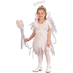 Buy costumes online like the Angel Fairy Toddler Costume from Australia's leading costume shop.