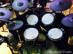 Recording Studio, Music Production, Live Music, Roland TD-30