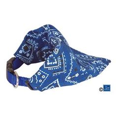 Hundeskjerf Blue Bandana 30-48cm Bandana, Alexander Mcqueen Scarf, 30th, Baby Car Seats, Harem Pants, Blue, Accessories, Fashion, Doggies