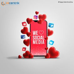 Expressing our love to the favorite activity of every day. We are in love that how every social media platform is not only enabling our connectivity but also playing a major role as a sales channel for a great no of local and global businesses. So without any doubt We Love Social Media! #valentine #love #valentinesday #valentines #gift #valentineday #valentinegift #valentinesdaygift #valentinespecial #valentinesdate #valentine2021 #14thfeb #feb2021 #socialmedia #design #graphicdesign… Marketing Goals, Digital Marketing Strategy, Digital Marketing Services, Social Advertising, Advertising Services, Valentine Special, Happy Valentines Day, Seo Agency, Enabling