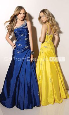 Totally gonna wear the blue one to prom.