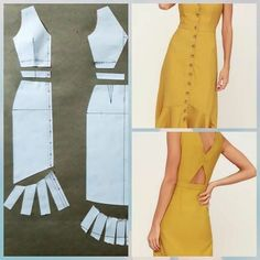 Fantastic Pic hand sewing dress Popular 54 Ideas Sewing Dress Patterns Dressmaking For 2019 Diy Clothing, Sewing Clothes, Clothing Patterns, Dress Sewing, Barbie Clothes, Sewing Art, Modest Clothing, Designer Clothing, Fashion Sewing