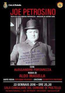 """TG Musical e Teatro in Italia: """"Joe Petrosino"""" - Monologo Teatrale in Prima Nazio..."""