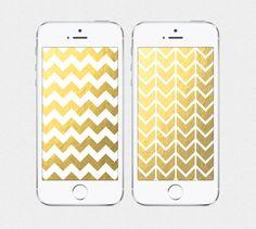 Shining Chevron iPhone 4 / iPhone 5 Wallpaper by SplendidSupplyCo - $3.00