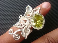 Kinar Ring - Wire Jewelry Tutorial