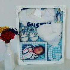 Quadro recordação maternidade