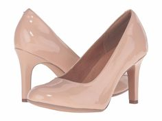 840d60389d8 Women s Shoes Clarks Heavenly Star Classic Patent Leather Pump 21423 Nude   New