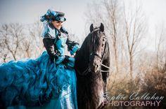 Equine Photography, Essex : Teri & Sander, Friesian Stallion - Sophie Callahan Photography