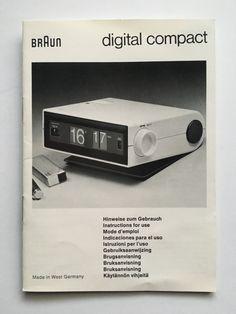 Braun digital compact manual | typ 4937 rollzahlenwecker