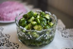 Gurken Dill Salat